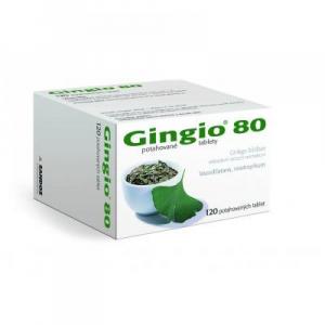 GINGIO 80 mg 120 potahovaných tablet
