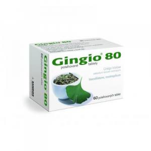 GINGIO 80 mg 60 potahovaných tablet