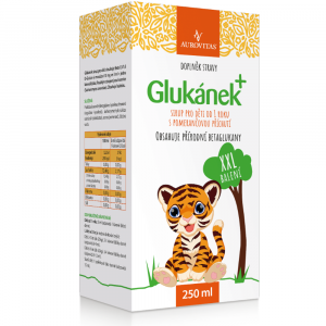 AUROVITAS Glukánek sirup pro děti 250 ml