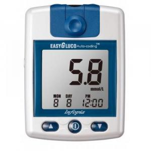 EASYGLUCO Glukometr 25 kusů testovacích proužků a 25 kusů lancet