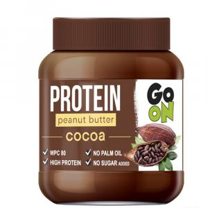 GO ON Proteinové arašídové máslo kakao 350 g