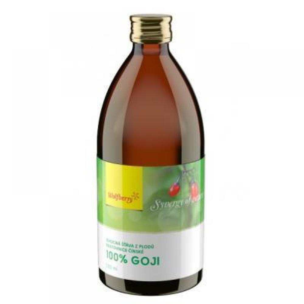 WOLFBERRY BIO Goji šťáva 100% 250 ml