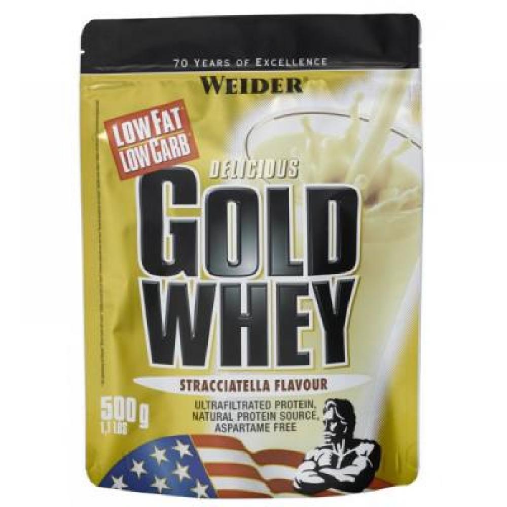 WEIDER Gold Whey syrovátkový protein Stracciatella 500 g