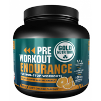 GOLDNUTRITION Pre-workout endurance pomeranč 300 g