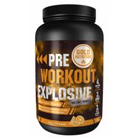 GOLDNUTRITION Pre-workout explosive pomeranč 1000 g