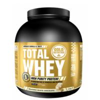 GOLDNUTRITION Total whey protein bílá čokoláda 2000 g