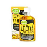 GREEN APOTHEKE Olej lněný zlatý 200 ml