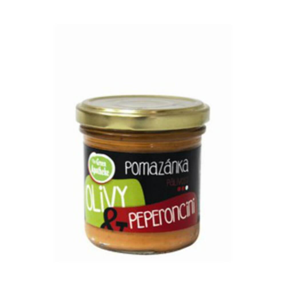 GREEN APOTHEKE Pomazánka olivy a peperoncino 140 g