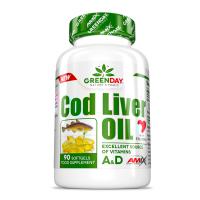 GREENDAY Cod liver oil 90 kapslí