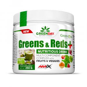 GREENDAY Greens & reds+ 250 g