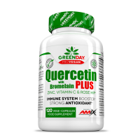 GREENDAY ProVegan Quercetin s bromelainem plus 120 kapslí