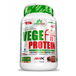 GREENDAY Vege-fiit protein peanut choco caramel 720 g