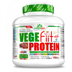 GREENDAY Vege-fiit protein double chocolate 2000 g