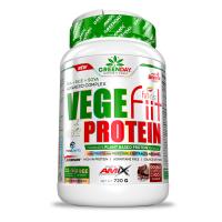 GREENDAY Vege-fiit protein double chocolate 720 g