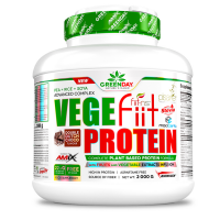 GREENDAY Vege-fiit protein peanut choco caramel  2000 g
