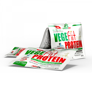 GREENDAY Vege fiit protein peanut choco caramel sáčky 20x 30 g