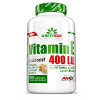 GREENDAY Vitamin E 400 I.U. LIFE+ 200 kapslí