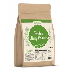 GREENFOOD NUTRITION Probio whey protein jahoda a banán 750 g