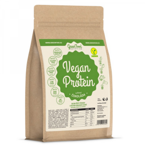 GREENFOOD NUTRITION Vegan protein čokoláda 750 g