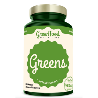 GREENFOOD NUTRITION Greens 120 kapslí