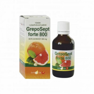 GREPOSEPT Forte 800 kapky 50 ml