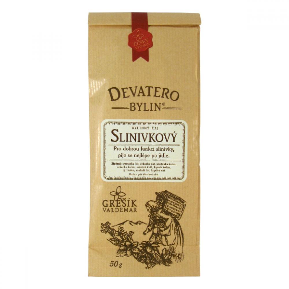 Grešík Slinivkový čaj sypaný 50g Devatero bylin