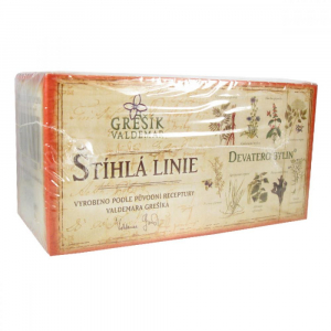 GREŠÍK Čaj Štíhlá linie Devatero bylin 20x1.5 g