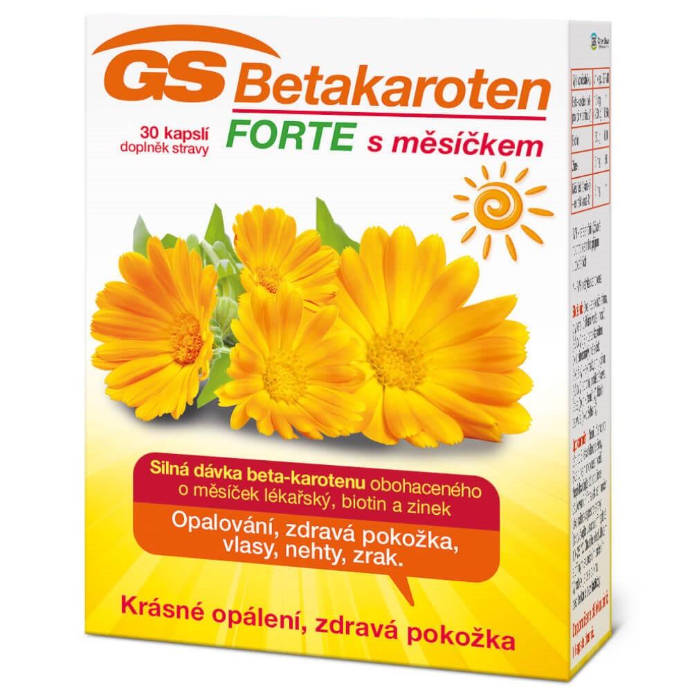 Levně GS Betakaroten Forte s měsíčkem 30 kapslí