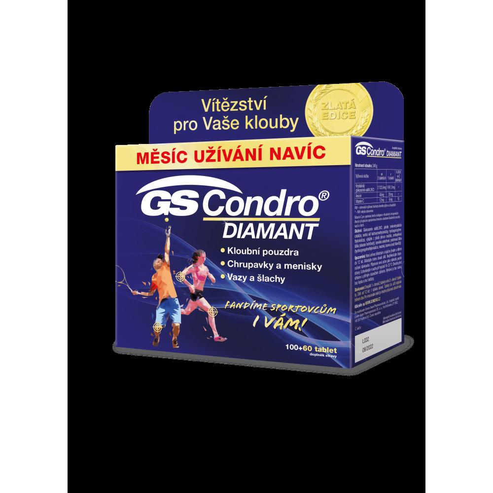 GS Condro Diamant 100 + 60 tablet ZLATÁ edice