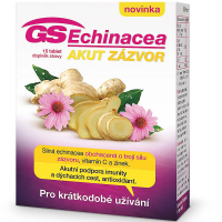 GS Echinacea Akut zázvor 15 tablet