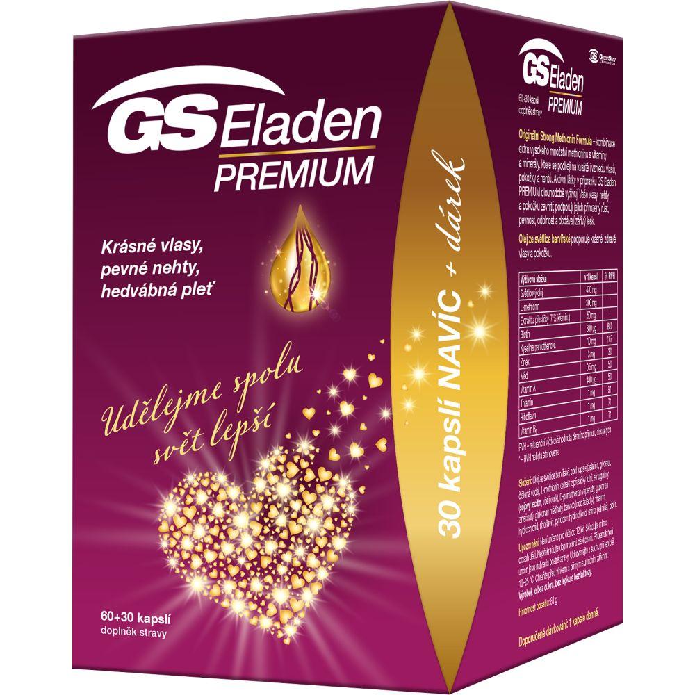 GS Eladen premium 60 + 30 kapslí DÁREK 2021