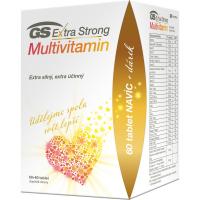 GS Extra strong multivitamin 60 + 60 tablet DÁREK 2021