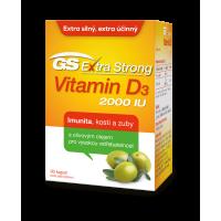 GS Extra Strong Vitamin D3 2000IU 90 kapslí