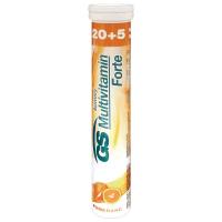 GS Forte Multivitamin Pomeranč 20+5 šumivých tablet