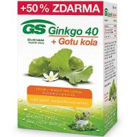 GS Ginkgo 40 + Gotu kola 80+40 tablet