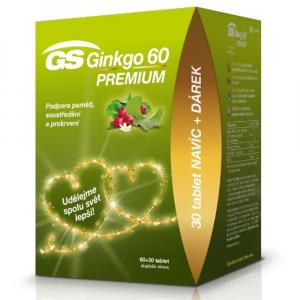 GS Ginkgo 60 Premium 60 + 30 tablet EDICE 2020