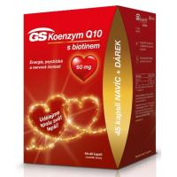 GS Koenzym Q10 60mg 45+45 kapslí EDICE 2020