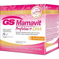 GS Mamavit Prefolin + DHA + EPA 30 tablet + 30 kapslí