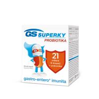 GS Superky probiotika 60 + 20 kapslí VÝHODNÉ balení