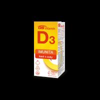 GS Vitamin D3 400IU kapky 10,8 ml
