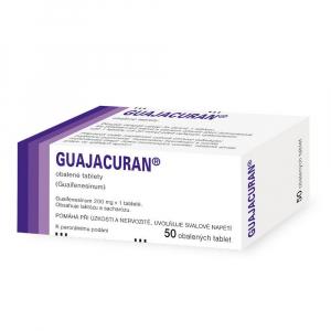GUAJACURAN 200 mg obalené tablety 50 kusů