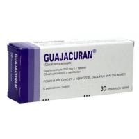 GUAJACURAN 200 mg 30 tablet