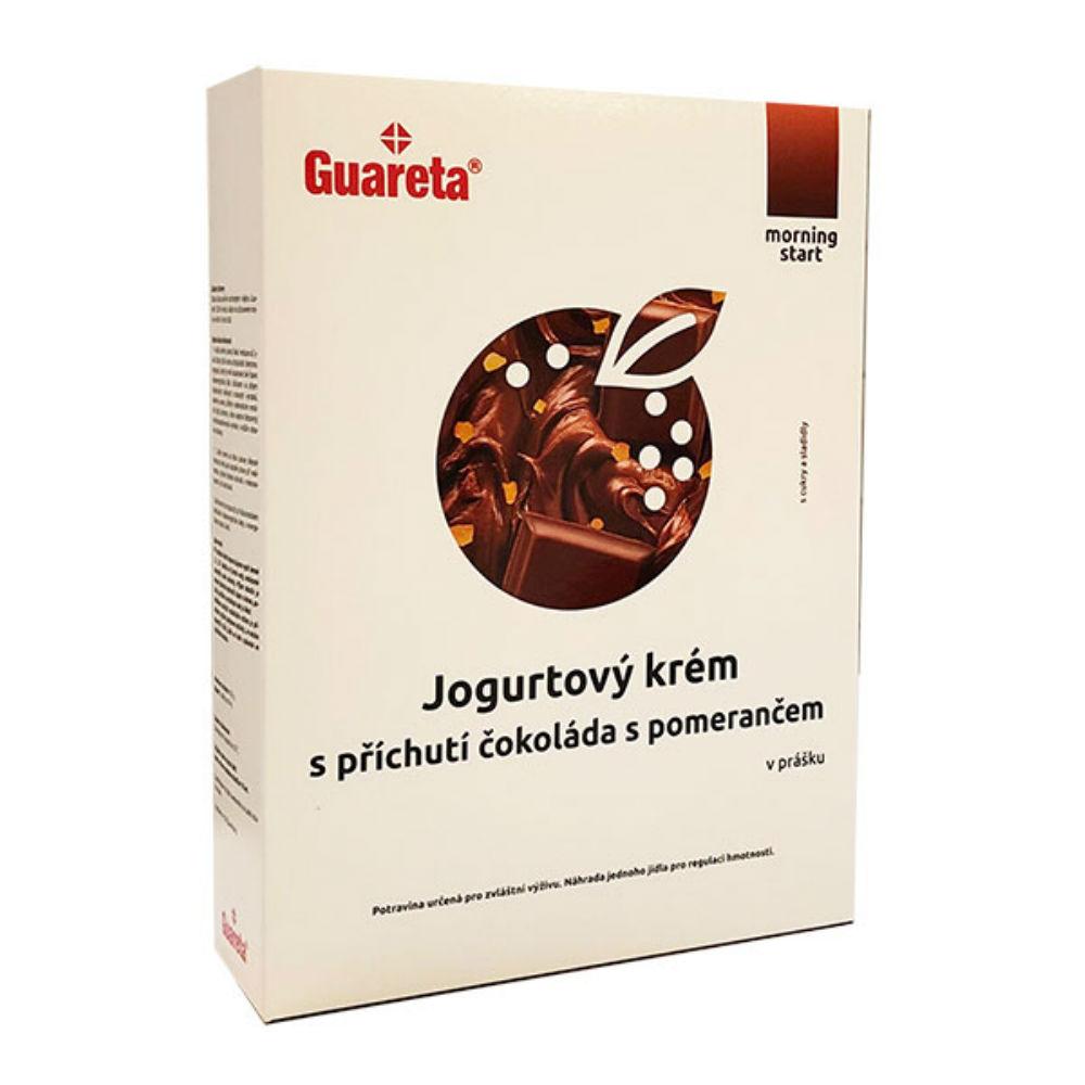 GUARETA Jogurtový krém s příchutí čokoláda s pomerančem 3 porce
