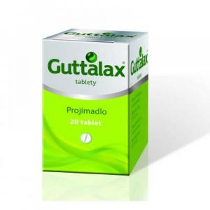 GUTTALAX Projímadlo 20 tablet