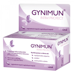 ONAPHARM Gynimun intim protect 10 vaginálních kapslí