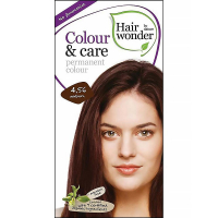 HAIRWONDER Dlouhotrvající barva BIO – kaštanová 4.56 - 100 ml