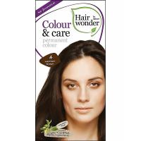 HAIRWONDER Dlouhotrvající barva BIO – středně hnědá 4 – 100 ml