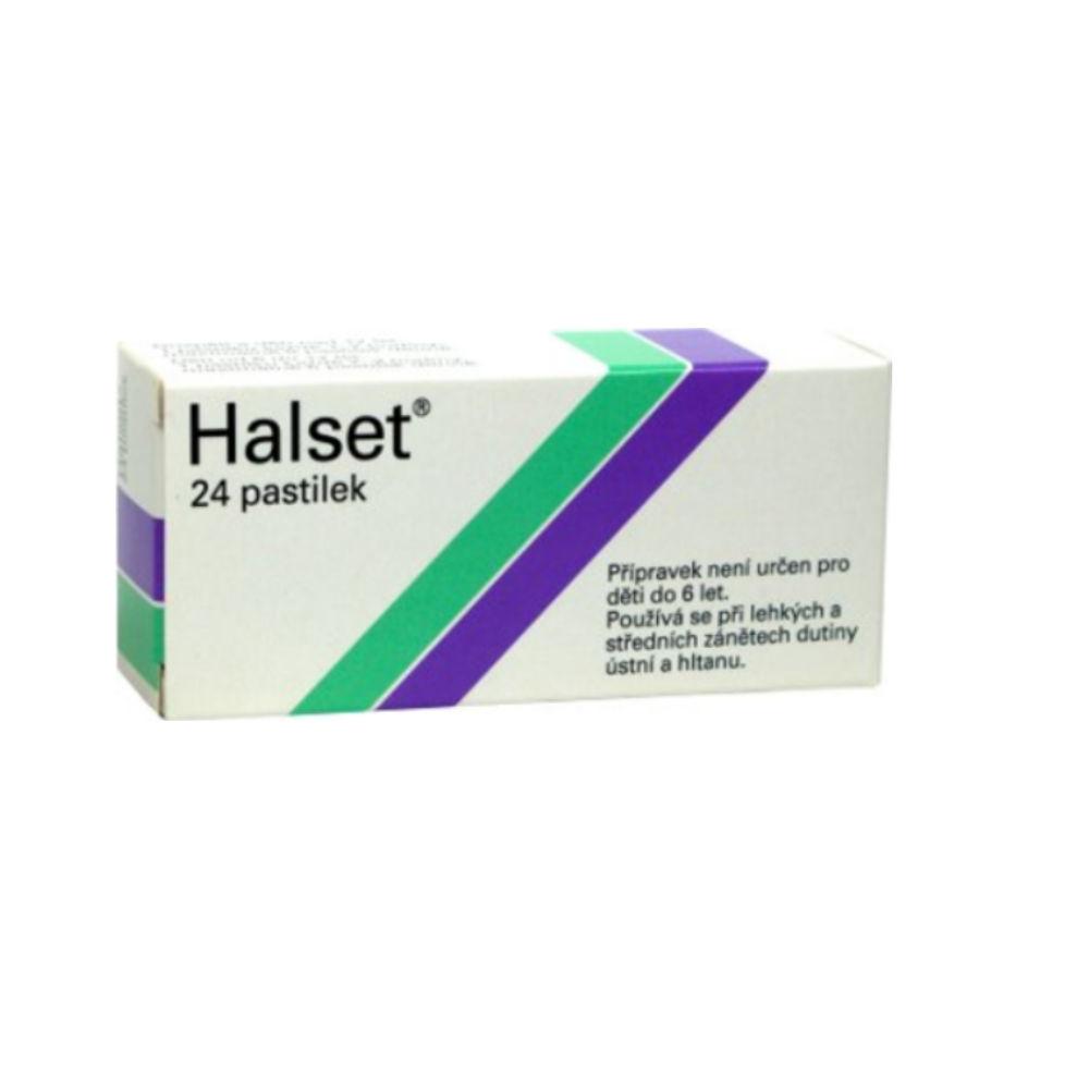 HALSET 24X1.5MG Pastilky rozp. v ústech
