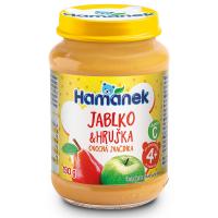 HAMÁNEK Hruška s jablky 190 g