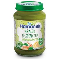 HAMÁNEK Králík se špenátem a bramborovým pyré 190 g